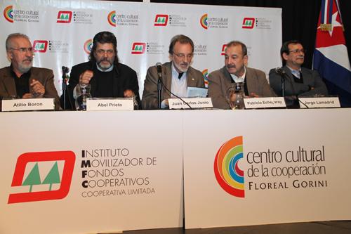 Abel Prieto en Argentina Centro Cultural de la Cooperacion