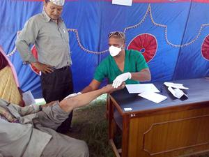 Medizinsiche Brigade in Nepal