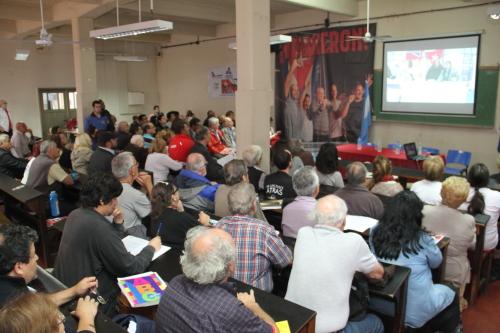 Encuentro solidario con Cuba en Buenos Aires
