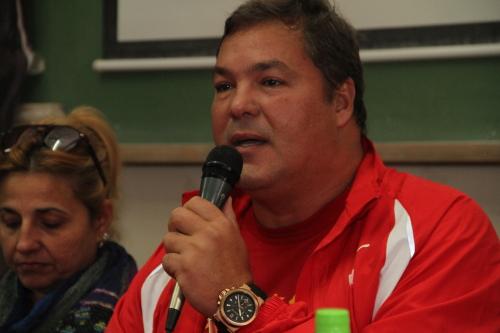 Ramon Labañino en Buenos Aires