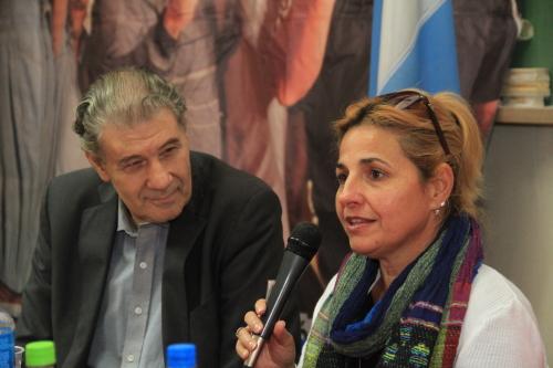 Elizabeth Palmeiro en Argentina