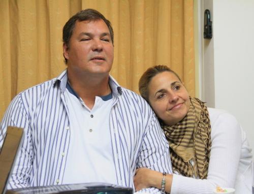 Ramón y Elizabeth en Argentina