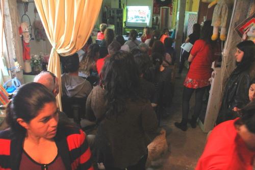 Participantes acto Tatu