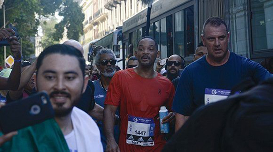 En fotos, Will Smith corre maratón en la capital de Cuba
