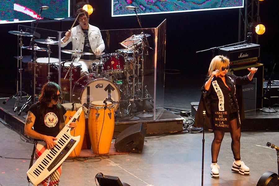 Blondie en La Habana